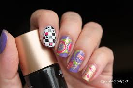 nail art nails inspired by a book alice in wonderland