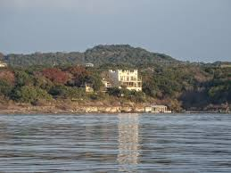 lakefront castle eco house with multi level homeaway lake travis