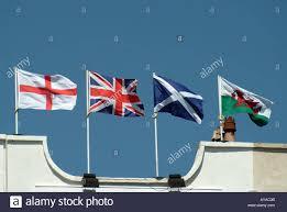 Scottish County Flags Weston Super Mare Union Flag English Welsh Scottish Flags Flying