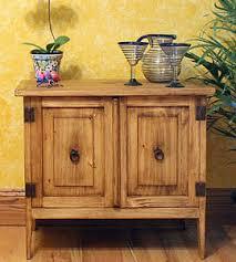 Mexican Pine Bookcase Rustic Furniture Mexican Furniture Talavera Tile Folk Art