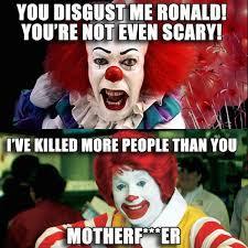 Funny Clown Memes - sh t happens sometimes 40 photos memes halloween humor and humor