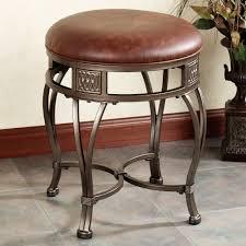 Velvet Vanity Chair Round Vanity Stool With Wheels Home Vanity Decoration
