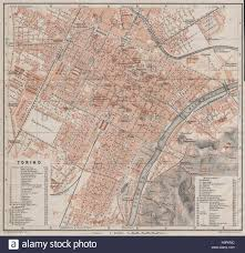 City Map Of Torino Turin by Torino Turin Antique Town City Plan Piano Urbanistico Italy Mappa