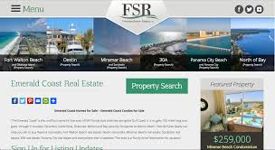 real estate and vacation rental website design web design