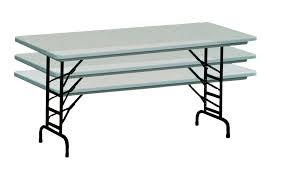 Folding Table Adjustable Height Ra3060 Plastic Folding Banquet Table Adjustable Height