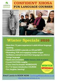 corporate xhosa training courses workshops