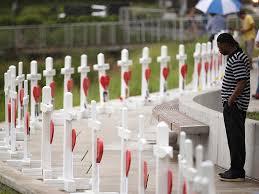 Orlando pulse shooting illinois man brings 49 white crosses to