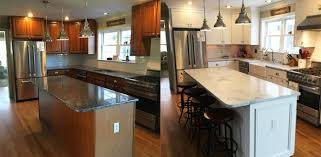 Quality Kitchen Refacing Dutchcraft Cabinet Refacing Reading MA - Kitchen cabinet refacing before and after photos