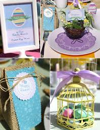 easter table favors easter egg hunt printable set 35 pages of easter party