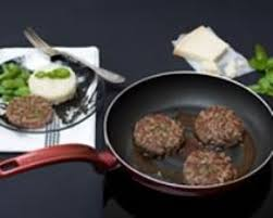 cuisine steak haché recette steak haché au basilic parmesan et sauce au vinaigre