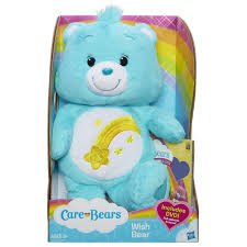 amazon com care bears wish bear 12 inch plush with bonus dvd