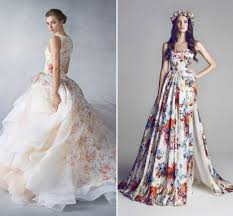 color wedding dresses how to choose a colored wedding dress lunss couture