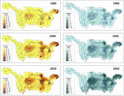 Kunlun Mountains Map 30 Year Changes In The Nitrogen Inputs To The Yangtze River Basin