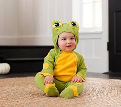 6 Month Boy Halloween Costume Baby Frog Halloween Costume 0 6 Months Pottery Barn Kids