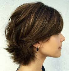 how to cut a short ladies shag neckline cute short shaggy bob haircuts hair styles pinterest short