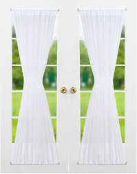Voiles For Patio Doors by Rhf Blackout French Door Curtains Door Panel 40w By 72l Inches