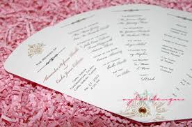 how to make fan wedding programs free printable wedding program templates popsugar smart living