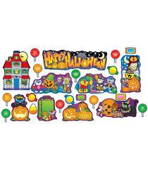 halloween mini bulletin board set grade pk 5 carson dellosa