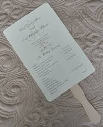 Wedding Program On A Fan Angella U0027s Blog You Can Make Simple Holders For Your Lollipop Diy