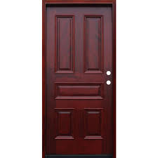 Home Depot 6 Panel Interior Door Classic Wood Doors Front Doors The Home Depot
