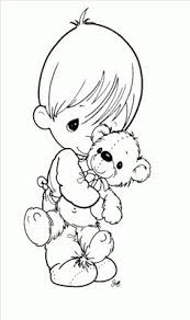 hockey player precious moments coloring pages 16486