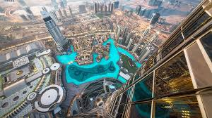 dubai eye view of skyscraper background hd wallpapers13 com