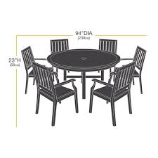Amazon Patio Furniture Covers by Amazon Com Amazonbasics Round Table And Chair Set Patio Cover