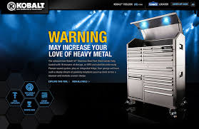 Kobalt Tool Cabinets Kobalt 53 Inch Tool Chest By Scott Rench At Coroflot Com