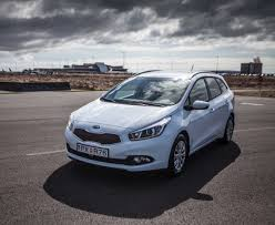 tour around iceland in a hire car kia ceed sportswagon
