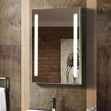 Illuminated Bathroom Mirror Cabinet by Illuminated Bathroom Mirror Cabinet Ebay