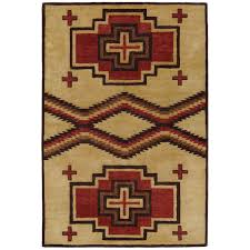 San Miguel Home Decor by Home Dynamix Tribeca Brown Red 5 Ft 2 In X 7 Ft 2 In Indoor