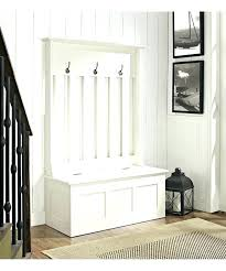 hall bench with shoe storage entryway bench shoe storage white