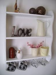 shelving ideas for kitchens hanging cup white stained wooden open shelv kitchen rack shelves