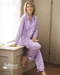 brushed back satin pajamas shop national