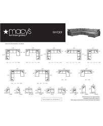 Macys Sectional Sofas by Rhyder 112