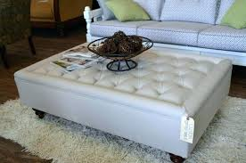 Padded Ottomans Fascinating Large Cocktail Ottoman Large Upholstered Cocktail