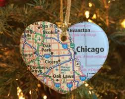 chicago ornament etsy