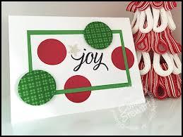 flash card joy christmas card video no 72 simply simple