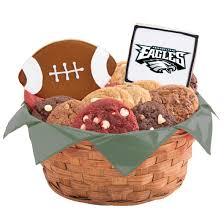 cookie basket nfl philadelphia eagles cookie basket cookies by design