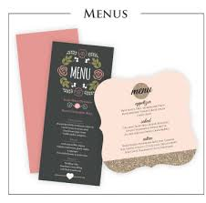 wedding menus and programs wedding programs rehearsal dinner invitations and more