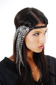 cool hair accessories feather headband for any day this summer visit beauty