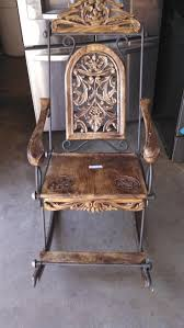 Antique Pressed Back Rocking Chair 147 Best Antique Wooden Rockers Images On Pinterest Rocking