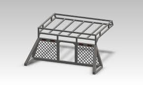 Ford F250 Truck Roof Rack - roof rack that attaches to headache rack ideas diesel