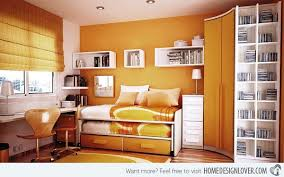 Orange And White Bedroom 50 Small Bedroom Ideas That Give A Mega Look