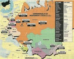 former soviet union map map of former soviet union 1992 as the soviet union disso flickr