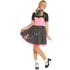 Cute Halloween Costumes Teen Girls Rooms Sock Hops Teen Sock Hop Cutie 50 U0027s Costume Teenage
