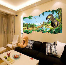 Dinosaur Room Decor EBay - Dinosaur kids room