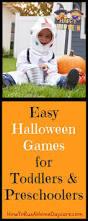 easy halloween games for toddlers and preschoolers halloween