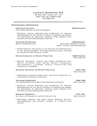 physical therapy resume example physical therapist massagemassage
