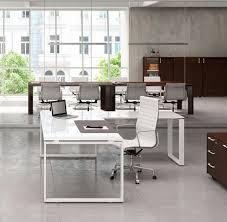 bureaux en verre bureaux de direction bureau verre pieds fermés plus